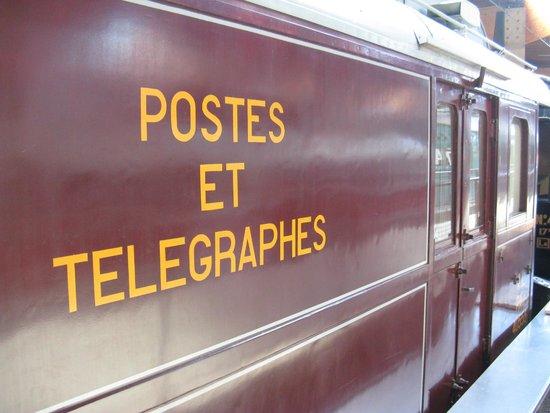 Cite du Train: Before La Poste ...