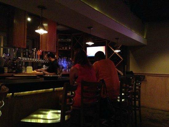 Matchbox Palm Springs : Bar at the Matchbox restaurant