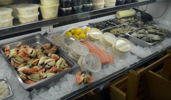 Gurnet Trading Co.: seafood cabinet