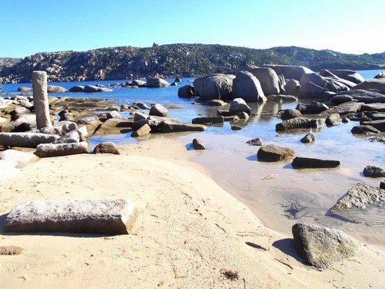 Capo Testa: spiaggia Colonne Romane