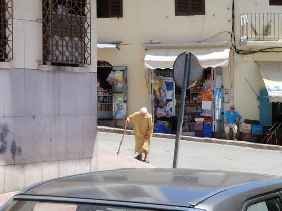 Medina of Tangier: interesting people