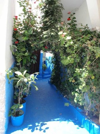 Medina of Tangier : hidden passages