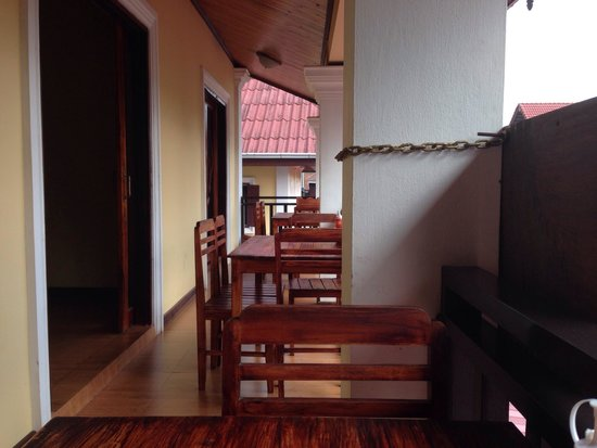 Singharat Guest House: Balkony