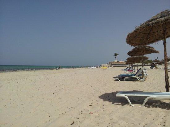 Al Jazira Beach & Spa: la plage de l'hôtel
