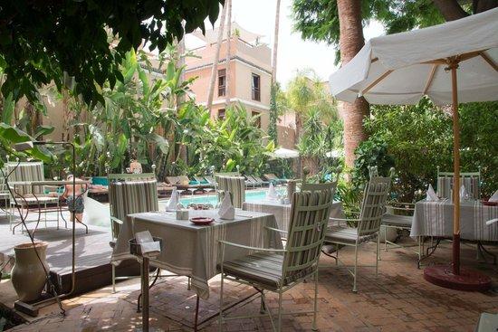 Les Jardins de la Medina : Terrasse