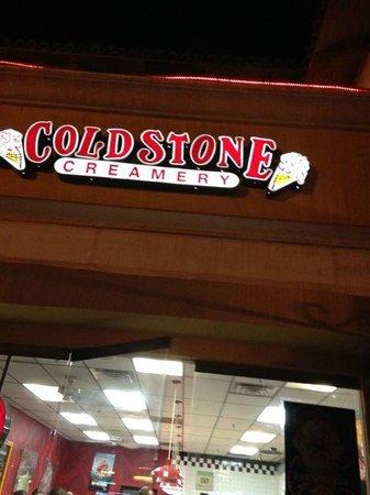 Coldstone Creamery: Entrance of the creamery