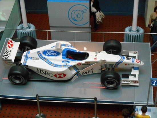 Museo Nacional de Escocia: Stewart F1 car