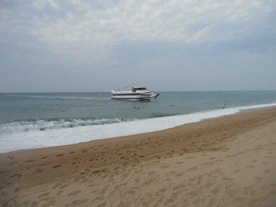 Mont-Rosa Hotel: Пляж