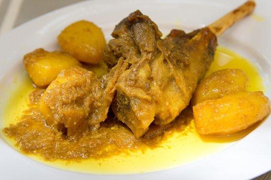 Les Jardins de la Medina : Tangia .....délicieux