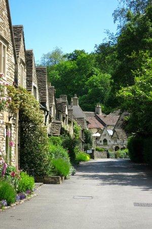 Castle Combe Village: gewoon een straatje