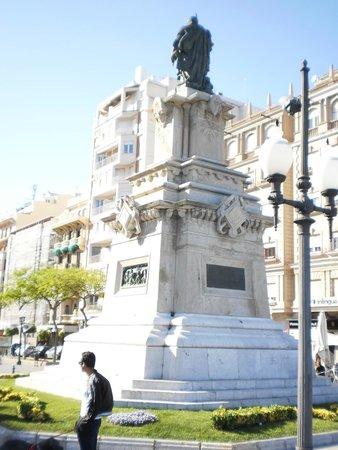 Hotel Imperial Tarraco: Behind Hotel