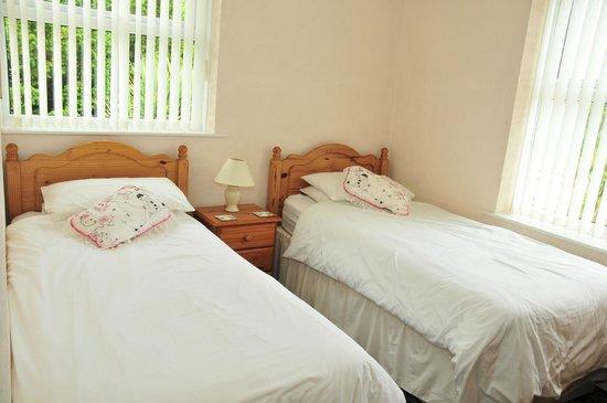 Harwood Lodge : Flat 2 Twin bedroom