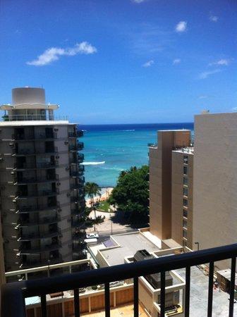 Waikiki Resort: view from room