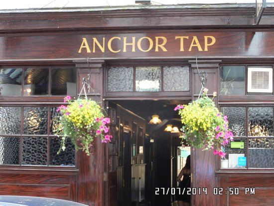 Entrance to The Anchor Tap