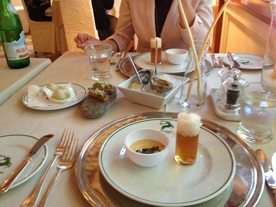 Castel Fragsburg: Amuse Gueule