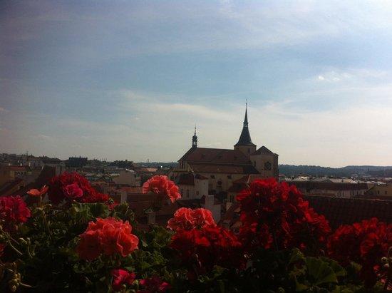 Hotel U Prince: Panorama dalla terrazza