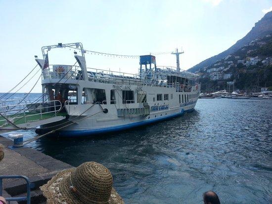 Marine Club Minicrociere : The boat