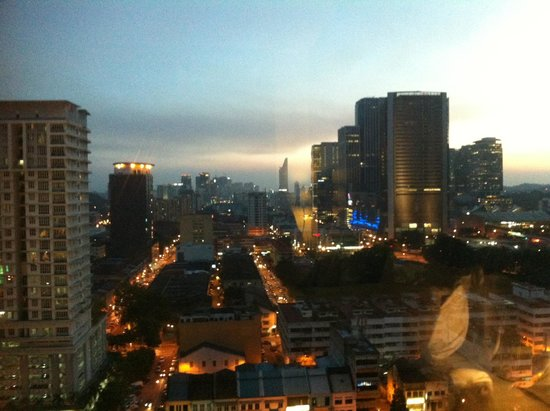 Ramada Plaza Dua Sentral Kuala Lumpur: View from the 16th floor