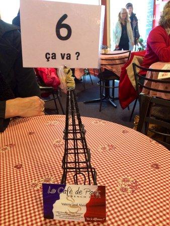 Le Café de Paris: Feels like France