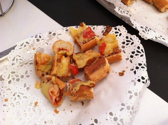Club Med Sant'Ambroggio: Grosses tartines pour l'apéro !