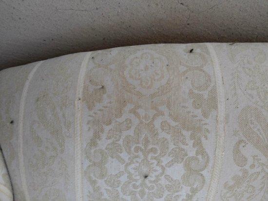 Mancioux, France : Le sofa à l'étage