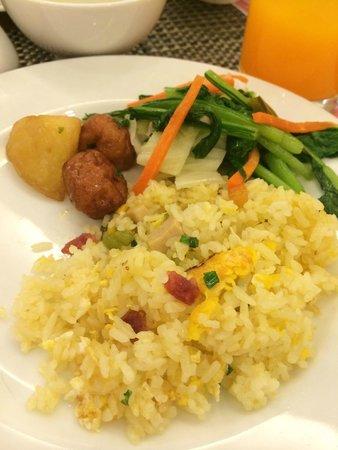 Alagon Saigon Hotel & Spa: อาหารเช้าบุฟเฟ่