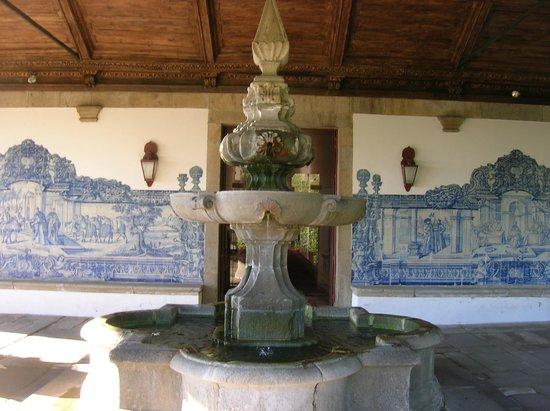 Pousada Mosteiro Guimarães: Terrazza