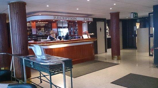 Hotel Savoy Mariehamn: Receptionen