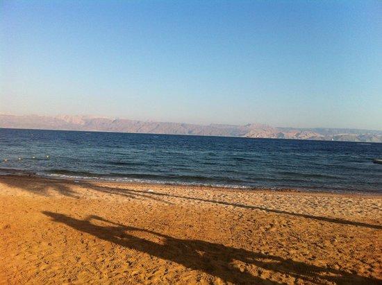 Mövenpick Resort Tala Bay Aqaba: Beach View