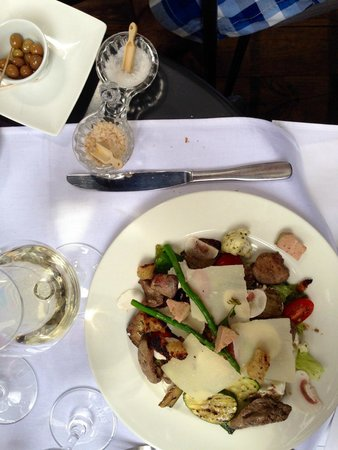 Le Wine Bar des Marolles : Salade folle