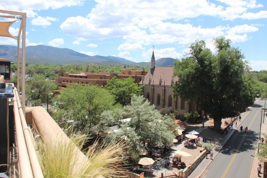 La Fonda on the Plaza: View from rooftop