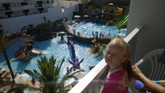 Hotel Los Patos Park: room 516 pool view