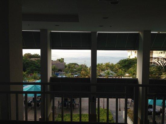 Sheraton Bijao Beach Resort : view from lobby