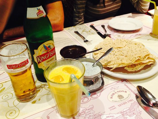 Koh-i-Noor: Appetizers