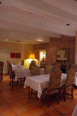 Hôtel Restaurant Château Landsberg : Salle à manger