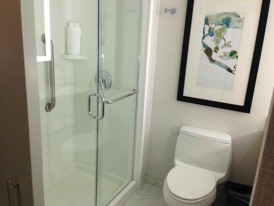 Hilton Garden Inn Times Square: Bathroom