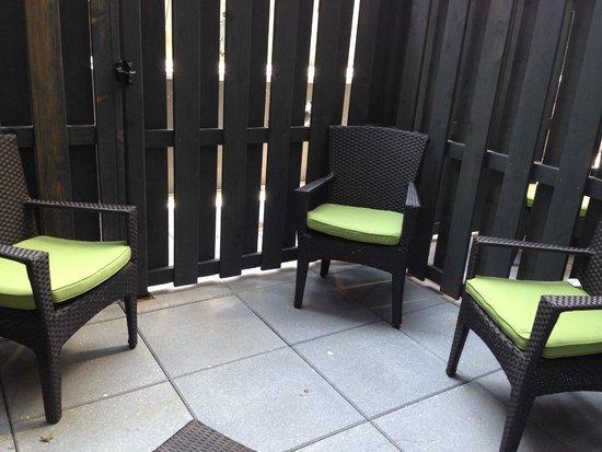 Hilton Garden Inn Times Square: Terrace