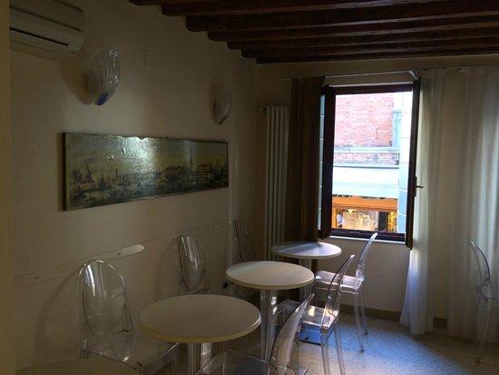 Hotel Adriatico: The breakfast area.