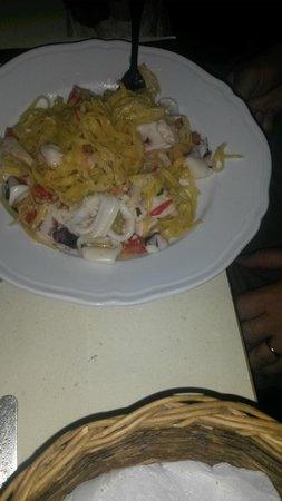 Le Forchette del Chianti: Seafood spaghetti