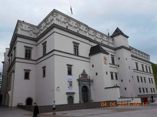 Palace of the Grand Dukes of Lithuania, National Museum: Facciata laterale