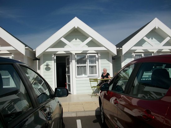 Warner Leisure Hotels - Corton Coastal Holiday Village: our chalet on the cliff top.