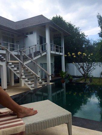 The Trawangan Resort : Pool area