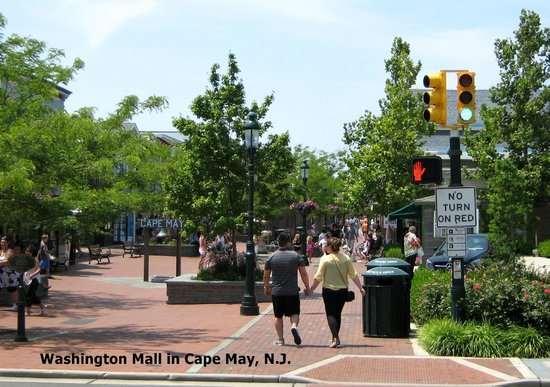 Cape May-Lewes Ferry: The Washington Mall in Cape May