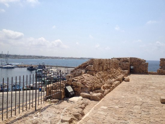 Paphos Harbour Castle : View from fort