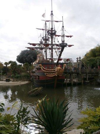 Walt Disney Studios Park: Pirate Ship