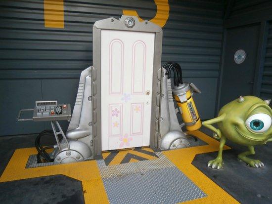 Walt Disney Studios Park: Monster's Inc