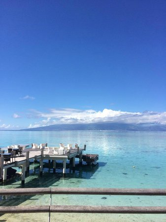 Sofitel Moorea Ia Ora Beach Resort : Vista sulla laguna