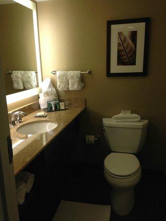 Hilton Singer Island Oceanfront/Palm Beaches Resort : Bathroom