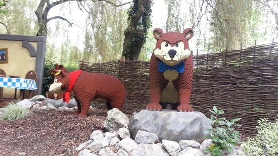 LEGOLAND Resort Hotel: three bears