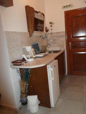 Merovigliosso Apartments: cucinino privato in camera